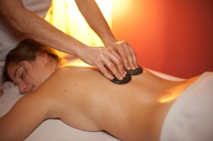 Hot stone massage picture 1